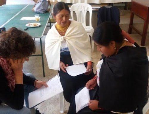 Bilingual Kichwa-Spanish Women Motivated to Facilitate in Ecuador
