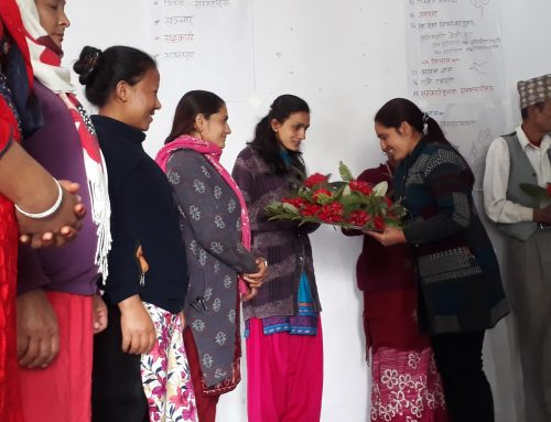 Empowerment workshop with NLRF district leaders in Rasuwa, Nepal