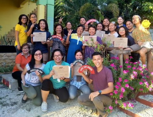 Sixteen People Participated in the First Basic Empowerment Workshop in Tagbilaran City, Philippines