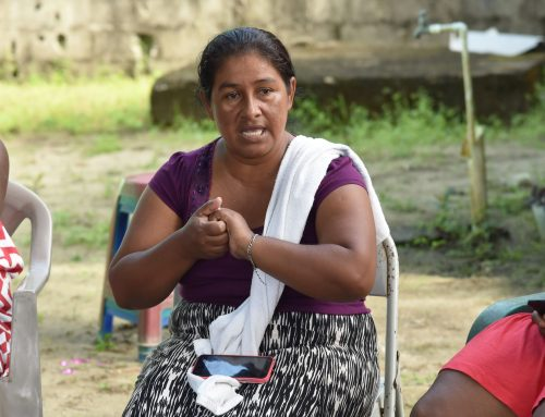 Workshops with Garifuna Women in Tornabe, Tela, Honduras
