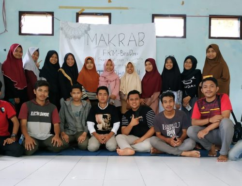 AVP at the Bima – Dompu Student Family Forum (FKM BD)