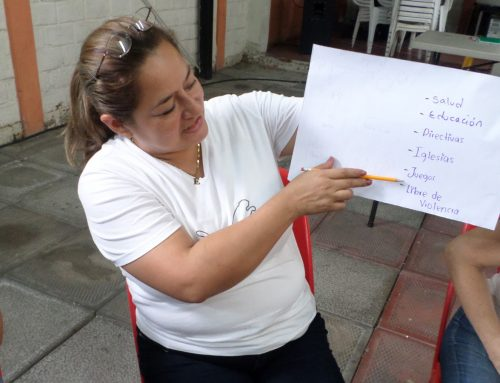 Peace Comes From Me: Facilitator Training in Zacamil, El Salvador