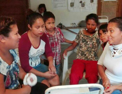 Young Tolupan Women Take AVP Basic Workshop in Honduras
