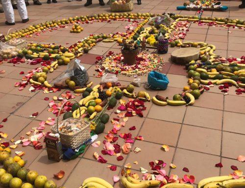 Kichwa Women Celebrate the Inti Raymi Festival for Summer Solstice in Ecuador