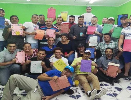 First AVP workshop offered in the Barrio el Inglés Men´s Prison in La Ceiba
