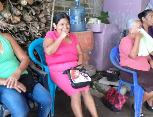 AVP in Our Hearts: Workshop with CoMadres, El Salvador
