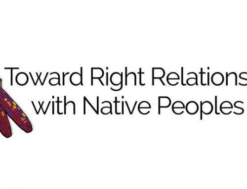 Announcing Toward Right Relationship With Native Peoples Program!