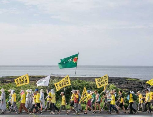 Peace Activists Have Been Protesting Korea's Navy Base in Jegu for 12 Years!
