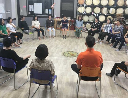 Cultures of Peace Empowerment Workshop in Gwang-Myeong City, Korea