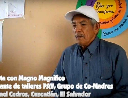 VIDEO: Interview with Magnificent Magno, Co-Madres, El Salvador