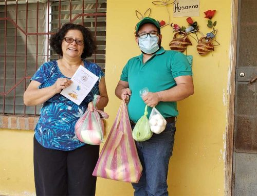 Vilma Flores Reflects on Peace Baskets and Putting AVP Tools into Practice