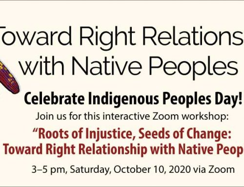 Event: Celebrate Indigenous Peoples Day! 3-5pm, Saturday, October 10th, via Zoom