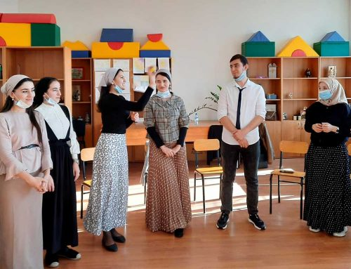 Creating Cultures of Peace Among Students in Grozny, Chechnya