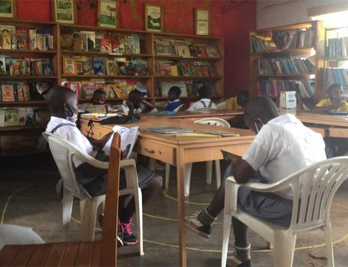 Children's Peace Library in Rwanda