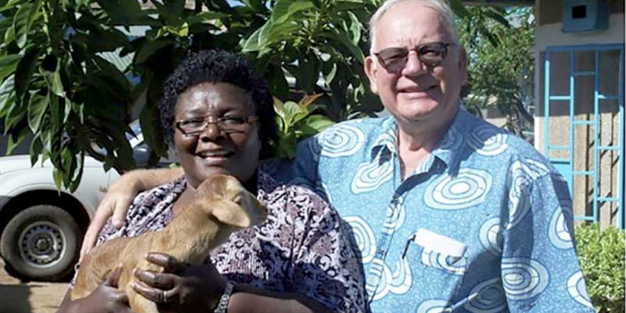 Gladys Kamonya and David Zarembka