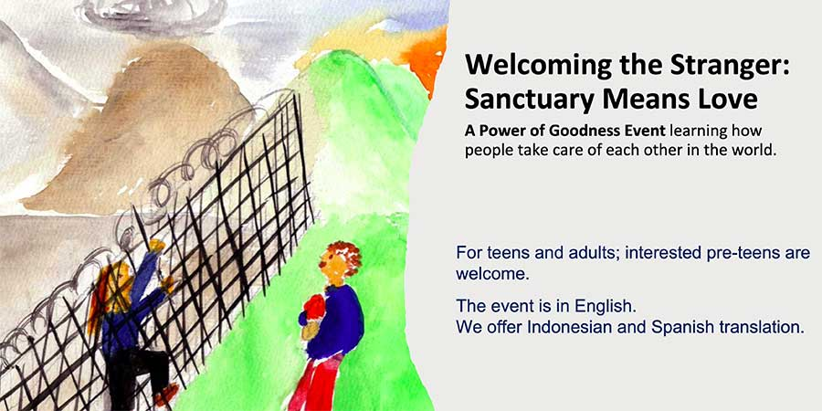 Welcoming the Stranger — Power of Goodness Event